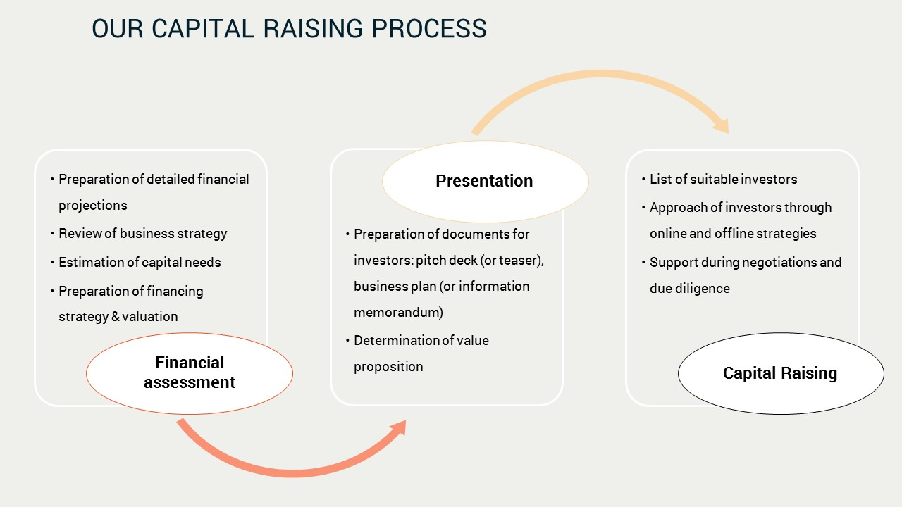 typical capital raising process